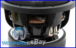 Open Box Sundown Audio X-10 V. 2 D4 Rev. 2 10 Dual 4-ohm 1500w Rms Subwoofer