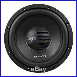 Orion XTR122D 12 Inch 2400 Watt Max Dual 2 Ohm Subwoofers XTR Series New 2 Pack