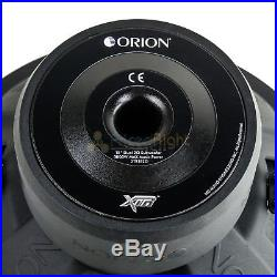 Orion XTR152D 15 Inch 3000 Watt Max Dual 2 Ohm Single Subwoofer XTR Series New