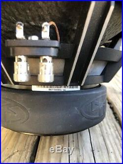 PAIR Old School Rockford Fosgate RFD2212 Punch Hx2 12 Inch Dual 4 Ohm Subwoofers