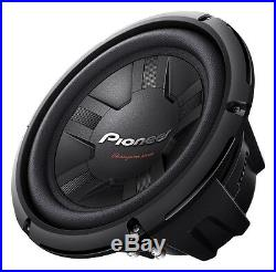 PIONEER TS-W311S4 12 Inch 30Cm 1400 Watts Max Sub Subwoofer 400 Rms 4Ohms