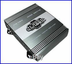 PYRAMID 12 Inch 1200W Car Audio Sub Box Subwoofer Bandpass Subs & 2 Ohm Amp