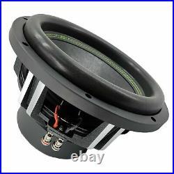 Pair Gravity 12 Inch 3000 Watt EACH 4 OHM Dual Voice Coil Car Audio Subwoofer