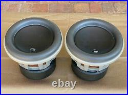 Pair JL Audio 8W7 Subwoofer Woofer 8W7-3 3ohm Pair (2) 8 inch Local Pickup Only