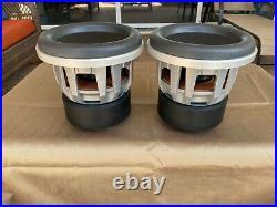 Pair JL Audio 8W7 Subwoofer Woofer 8W7-3 3ohm Pair (2) 8 inch jlaudio JLAudio