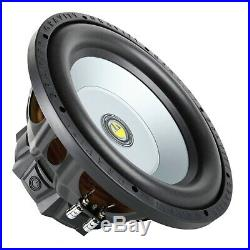 Pair of Gravity 12 Inch 2400 Watt Car Audio Subwoofer with 4 Ohm Power (2 Woofers)