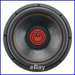 Pair of Gravity 12 Inch 4000 Watt Car Subwoofer with 4 Ohm DVC Power (2 Sub)