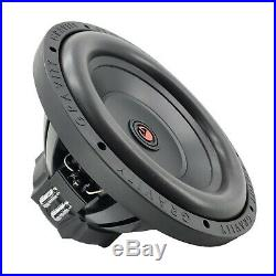 Pair of Gravity 12 Inch 6000 Watt Car Subwoofer with 4 Ohm DVC Power (2 SUB)