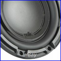 Polk Audio DB+ 10 Inch 1050 Watt 4 Ohm DVC Marine and Car Subwoofer (2 Pack)