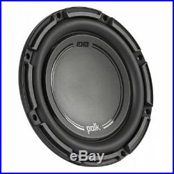 Polk Audio DB+ 10 Inch 1050 Watt 4 Ohm SVC Marine & Car Subwoofer (2 Pack)