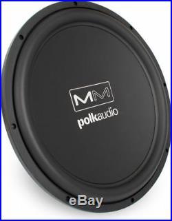 Polk Audio MM1540 15-Inch Subwoofer Sub 4 ohm Marine Certified Peak 850 watts