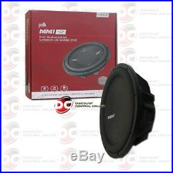 Polk Audio Mm1 Series 12 Dual 4-ohm Car Audio Subwoofer DVC 420w Rms