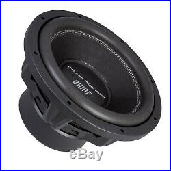 Power Acoustik BAMF-122 3500 Watts 12-Inch Dual 2 Ohm Car Stereo Audio Subwoofer