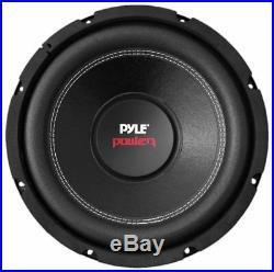 Pyle PLPW15D 15-Inch 2000 Watt Dual 4 Ohm Subwoofer Car Audio Bass Speaker Black
