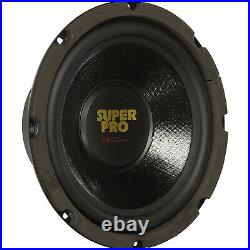 Pyramid 8 Inch 350W 8 Ohm High Performance Car Audio Subwoofer Speaker (4 Pack)
