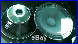 RCF L18S801 700w rms 8 ohm 18 Inch Bass Subwoofer Speaker Driver (2x)