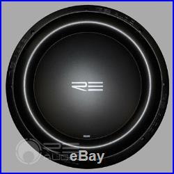RE Audio SEXV2-12 12 Inch 1500 Watt Peak Dual 4 Ohm Fea Optimized Woofer New