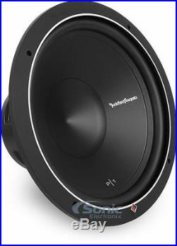 ROCKFORD FOSGATE P1S4-15 500W 15 Inch PUNCH Stage 1 Single 4 Ohm Car Subwoofer