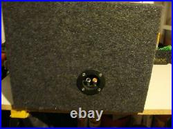 Rare JL Audio 10W0-v2 10 inch 4ohm Subwoofer With Enclosure