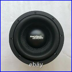 Resilient Sounds Gold 8 Inch 1000rms (2000watts) D2 Ohm Load Subwoofer