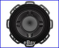 Rockford Fosgate 10 Inch 600 Watt 2 Ohm Car Audio Shallow DVC Subwoofer P3SD2-10