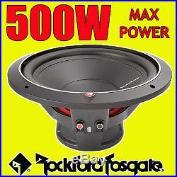 Rockford Fosgate 12 12-inch 500W CAR AUDIO Punch Bass Sub Subwoofer 30cm 4ohm