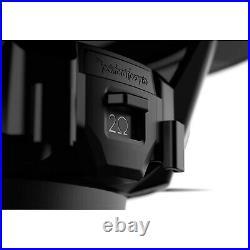 Rockford Fosgate M1D4-8B Color Optix DVC 4-Ohm Marine 8-Inch Subwoofer, White