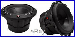 Rockford Fosgate P2D4-8 8-Inch Punch P2 500 Watt 4-Ohm DVC Subwoofers (Pair)
