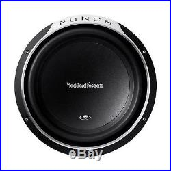 Rockford Fosgate P3SD2-12 P3 Punch Shallow mount 12-Inch DVC 2-Ohm Subwoofer
