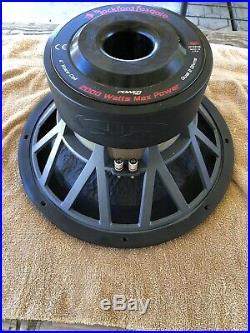 Rockford Fosgate POWER Hx2 15 Inch Dual 2 Ohm Subwoofer (RFR1315) ULTRA RARE