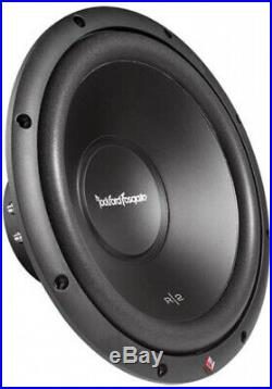 Rockford Fosgate R2D4-12 12-Inch 1000W 4-Ohm Dvc R2 Subwoofers (Pair)