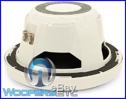 Rockford Fosgate Rm18d2 White 8 300w Marine Boat 2 Ohm Subwoofer Bass Speaker