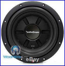 Rockford R2sd4-10 Fosgate 10 Sub Dual 4-ohm Shallow Slim Subwoofer Speaker New