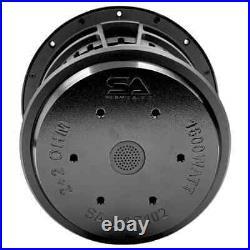 SA-LAF102 10 Inch Dual 2 Ohm Car Audio Subwoofer 1600 Watt Max Power