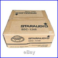 STARAUDIO 12 Inch 2000W 8 Ohm Subwoofer Replacement DJ PA Audio Home Woofer Bass