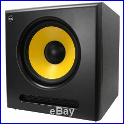 Seismic Audio Active 12 Inch Studio Subwoofer- 120 Watts RMS 8 Ohms