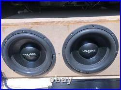 Skar Audio SVR-12 12 Inch Dual 2 Ohm Car Subwoofer