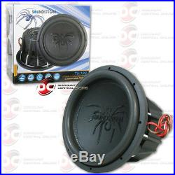 Soundstream T5.122 12 Tarantula Series Car Audio Dual 2-ohm Subwoofer 1000w Rms