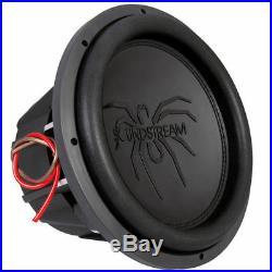 Soundstream T5.124 2000 Watts 12 Inch Tarantula Dual 4-Ohm Car Audio Subwoofer