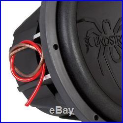 Soundstream T5.152 Tarantula T5 15 Inch 2600 Watt Max 2 Ohm DVC Subwoofer, Black