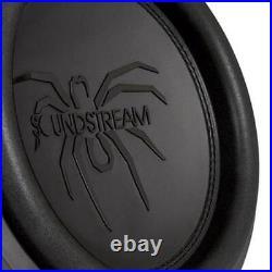 Soundstream T5.152 Tarantula T5 15 Inch 2600 Watt Max 2 Ohm Subwoofer (2 Pack)