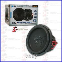Soundstream T5.154 15 Dual 4-ohm Car Subwoofer 2600w Max
