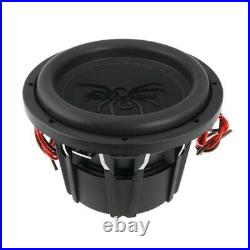 Soundstream Tarantula T5 10 Inch 1800W Max 4 Ohm DVC Subwoofer, Black (Open Box)