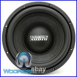 Sundown Audio E-10 D4 V4 10 500w Rms Sub Dual 4-ohm Subwoofer Bass Speaker New