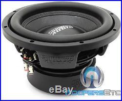 Sundown Audio E-10 V. 3 D2 10 500w Rms Dual 2-ohm Car Subwoofer Bass Speaker New