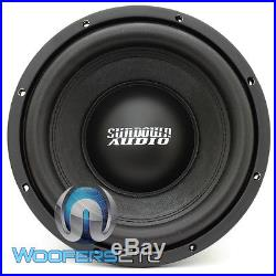 Sundown Audio E-10 V. 3 D4 10 500w Rms Dual 4-ohm Car Subwoofer Bass Speaker New