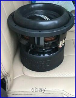 Sundown Audio X-10 V. 2 D2 Revision 2 Pro 10 Dual 2-ohm 1500w Rms Subwoofer