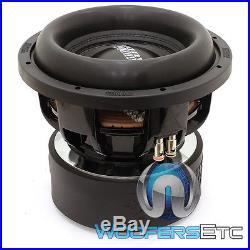 Sundown Audio X-10 V. 2 D4 Revision 2 Pro 10 Dual 4-ohm 1500w Rms Subwoofer New