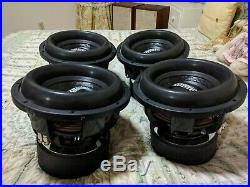 Sundown Audio X-12 V. 2 D2 Subwoofer Pro 12 Dual 2-ohm 1500w Rms Sub