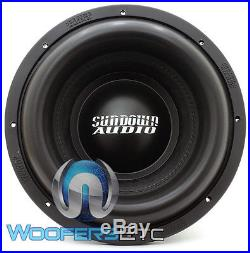 Sundown Audio X-12 V. 2 D4 Sub Pro 12 Dual 4-ohm 1500w Rms Bass Subwoofer New